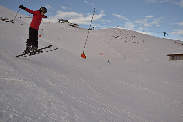 Ski Jumper in Zinal