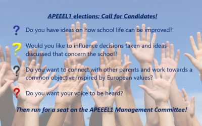 APEEEL1 elections – Call for Candidates