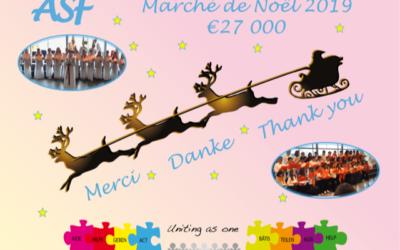 Christmas Market – ASF says Thank you